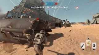 Star Wars Battlefront | Batalla de Jakku DLC | Punto de inflexion