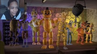 [FNAF SFM] Just Gold REACTION | BREAKING THE MOLD