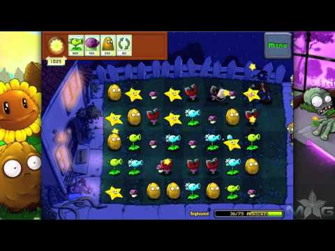 Plants vs Zombies Mini-Game Beghouled