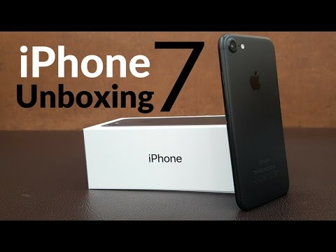 IPhone 7 Unboxing And First Look Giveaway Soooooon