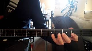 The Stray Cats - Rock This Town - Bass Cover