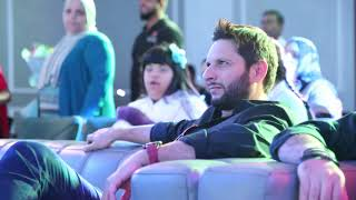 Shahid Khan Afridi a Pakistani professional cricketer player visited Rashid Centre for Disabled