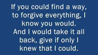 Daughtry - CRAWLING BACK TO YOU [Music & Lyrics]
