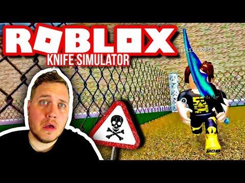 JAGET AF COMKEAN OG ELGEN'S FANS 🗡 :: Roblox Knife Simulator Dansk