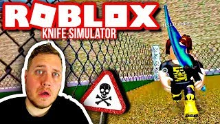 CHASED BY COMKEAN AND ELGENE'S FANS 🗡:: Roblox Knife Simulator english