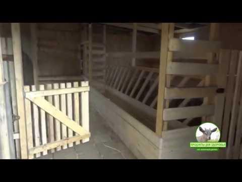 Удобный сарай для коз Козовник ч 2 Фото + Видео