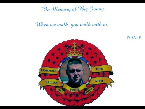"""Evening Of Remembrance....""""In Memory of Big Jonny"""""""