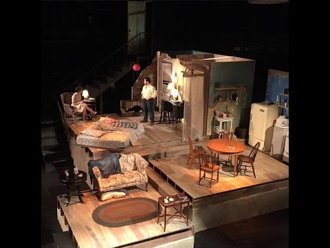 """Tennessee Williams """"Streetcar Named Desire"""" North Central College 2015"""