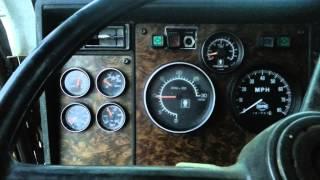 KENWORTH T800 DUMP TRUCK ENGINE REV