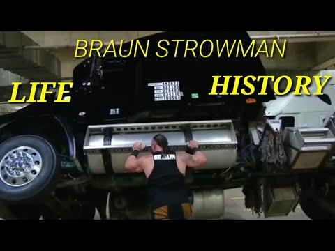 WWE BRAUN STROWAN LIFE HISTORY 2018 25 FEB