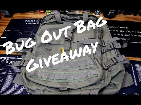 FREE BUG OUT BAG GIVEAWAY / Rothco Large Transport Pack