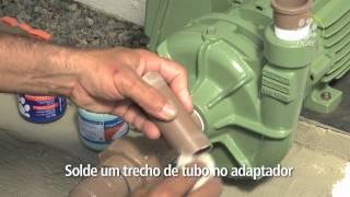 Como instalar válvula de pé com crivo e válvula de retenção soldável   Tigre