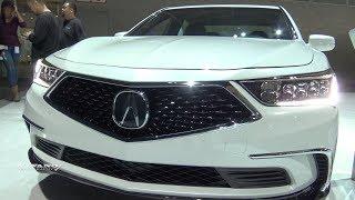 2018 Acura RLX P-AWS - Exterior And Interior Walkaround - LA Auto Show 2017