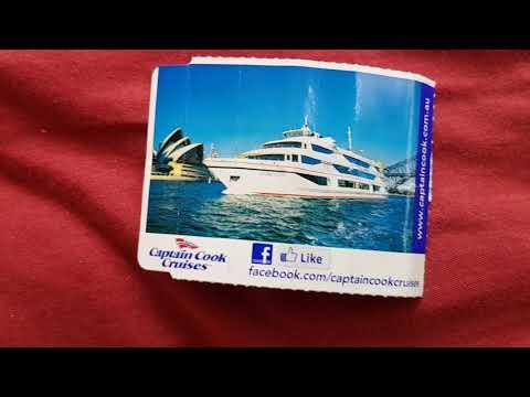 Ferry cruise ticket