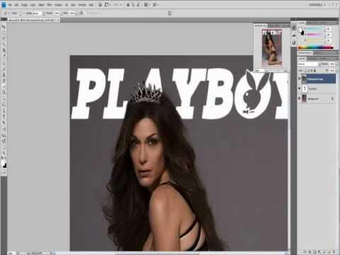 Playboy Magazine Cover Photoshop