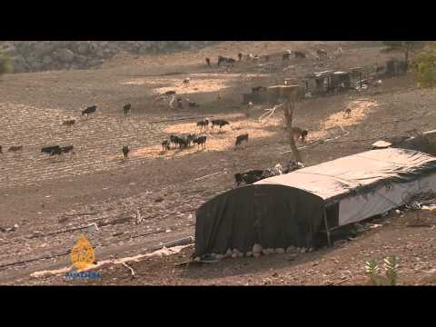 West Bank Palestinians lose water and land