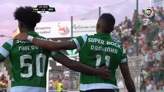 Goal   Golo Raphinha: Portimonense 1-(3) Sporting (Liga 19/20 #3)