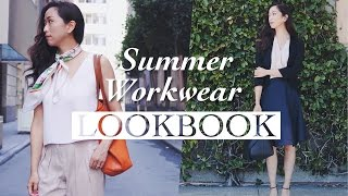 Summer Office Wear Outfits Lookbook, workwear, office wear, office style, work outfits