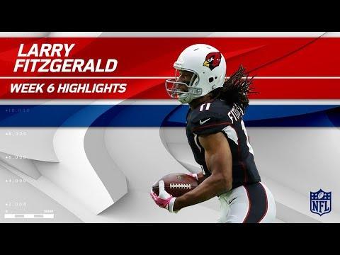 Fitzgerald's Fiery Day w/ 10 Grabs, 138 Yards & 1 TD | Bucs vs. Cardinals | Wk 6 Player Highlights