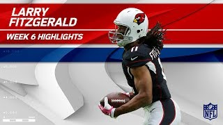 Fitzgerald's Fiery Day w/ 10 Grabs, 138 Yards & 1 TD | Bucs vs. Cardinals | Wk 6 Player Highlights