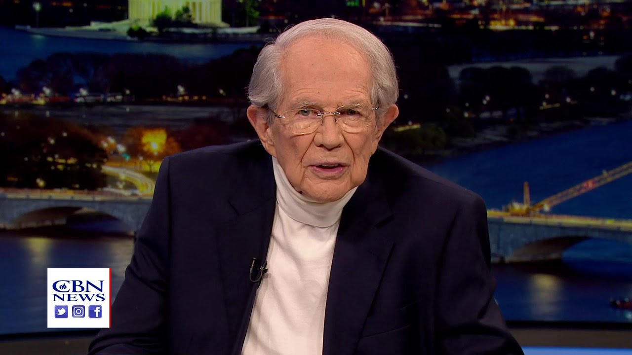 CBN Founder Pat Robertson Reminds Americans: 'We are More Than Conquerors' - YouTube