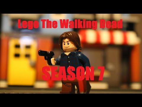 Lego The Walking Dead Season 7 Episode 8 - East
