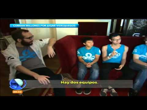 Entrevista a Cloud9 en Telefe Noticias (Argentina)