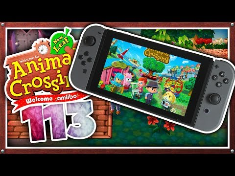 Animal Crossing FÜR SWITCH?! DIESES JAHR! 🐶 #113 [Staffel 5] • Animal Crossing New Leaf