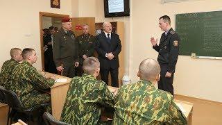 Подробности рабочего дня Президента во внутренних войсках