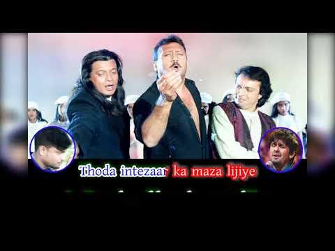 Ishq Aur Pyar Ka Maza Lijiye Karaoke | Altaf Raja | Sonu Nigam | Shapath | Mithun Chakraborty