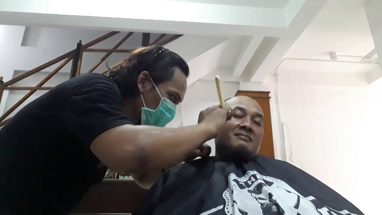 Gaya potong rambut cepak - YouTube