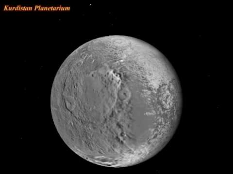 Saturn's Moon: Iapetus Rotation - YouTube