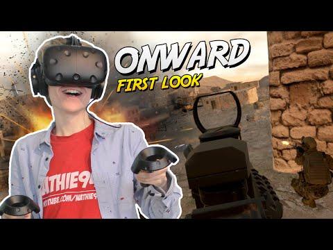 MILITARY SIMULATOR GAME IN VIRTUAL REALITY | Onward VR (HTC Vive Gameplay)