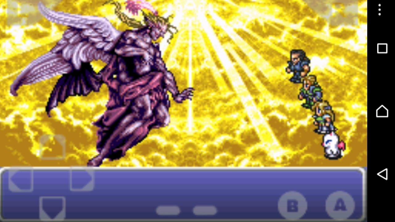 Final Fantasy 6 Rom final fantasy vi savegame gba android kefka final boss