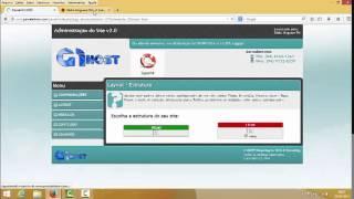 Como Configurar o site Administração v2.0  G1HOST