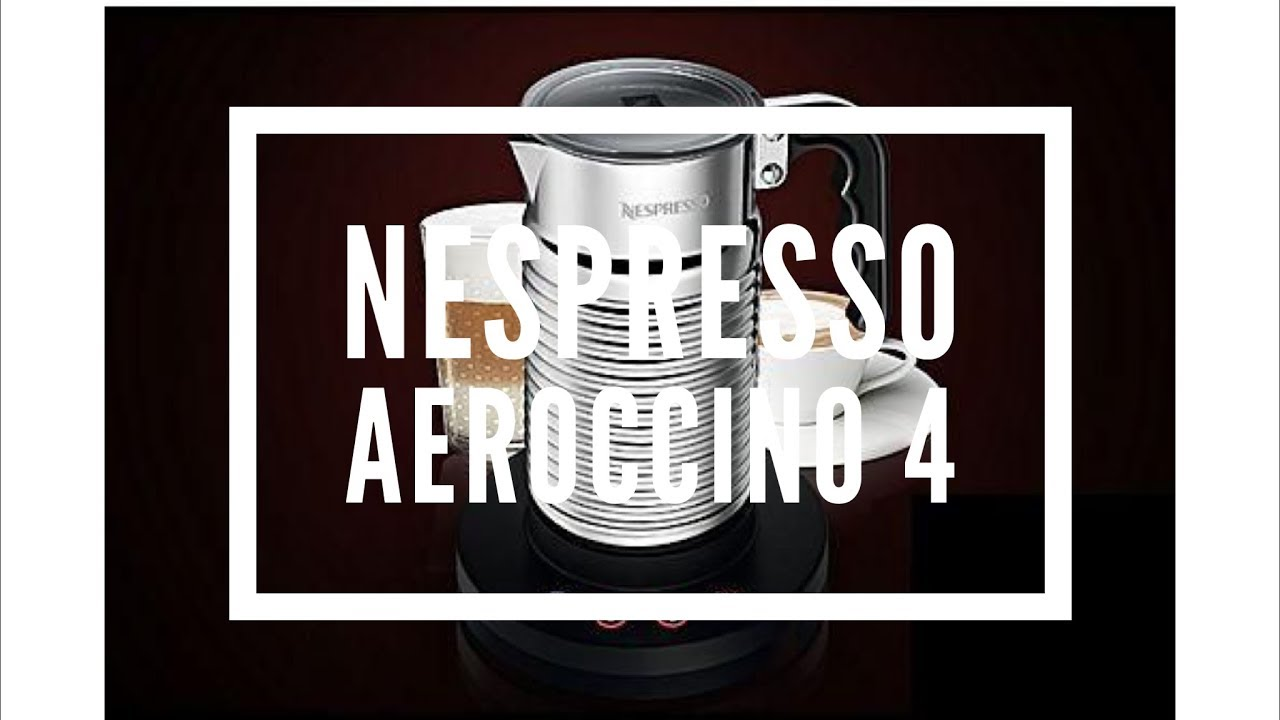 how to use the nespresso aeroccino 4 milk frother youtube. Black Bedroom Furniture Sets. Home Design Ideas
