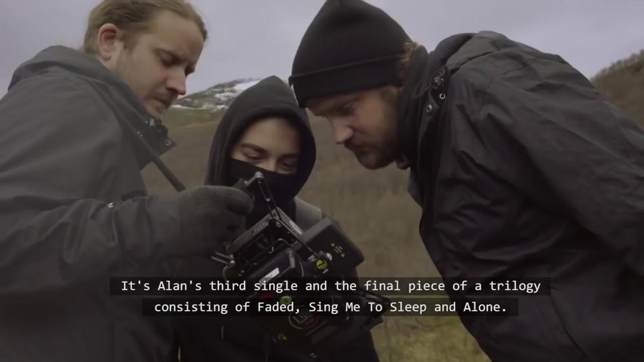 alan walker the making of alone alan walker face reveal youtube