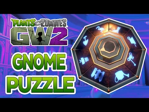 Plants Vs Zombies Garden Warfare 2 Solving The Gold Gnome Lever Puzzle Pvzgardenwarfare