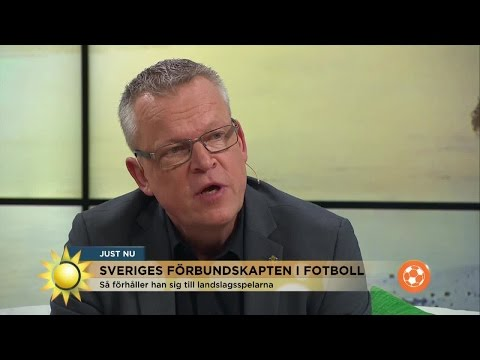 """Janne Andersson: """"Olikheterna är det intressanta i ett lag"""" - Nyhetsmorgon (TV4)"""