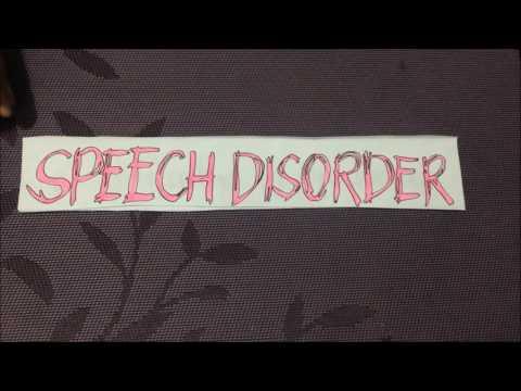 Speech or Communication Disorder