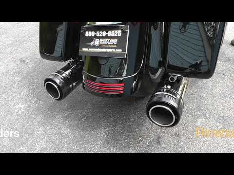 Sound Clips of EVERY Rinehart Slip On for Milwaukee 8 HD Touring - With and Without Stock Headers