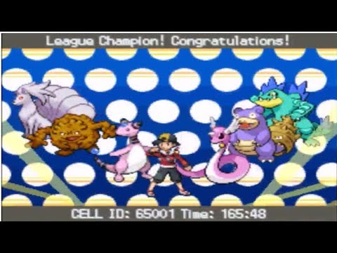 My SoulSilver Badge Quest Shiny Team Vs. The Pokemon League/Elite 4