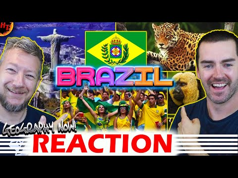 Geography Now Reaction!