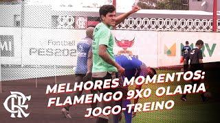 Melhores Momentos - Flamengo 9x0 Olaria - Jogo-treino