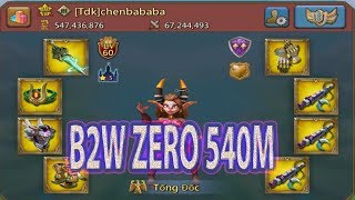 game lords mobile B2W zero 540m