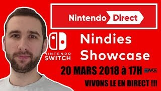 NINTENDO DIRECT, NINDIES SHOWCASE ! VIVONS LE ENSEMBLE !
