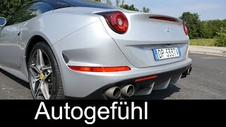 Sound enjoyment ferrari california t - autogefühl