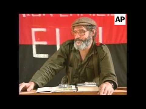 COLOMBIA: ELN REBEL LEADER MANUEL PEREZ DIES AGED 62