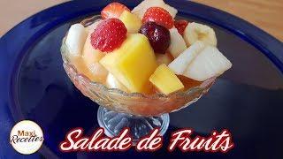 Recette Salade de Fruits Exotiques