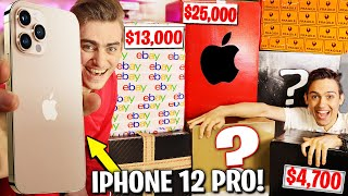 I SPENT $50,000 ON 7 EBAY MYSTERY BOXES!! (NEW IPHONE 12 PRO MAX!? UNBOXING & REVIEW) Giveaway!